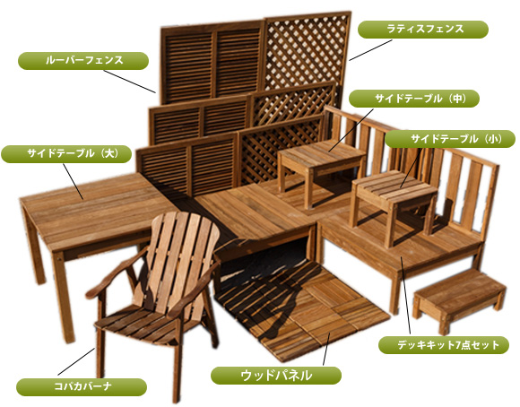 高耐久 屋外 木製 イタウバ製 目隠しフェンス Venez ベネジ 900×900mm (約18kg)【在庫限り】