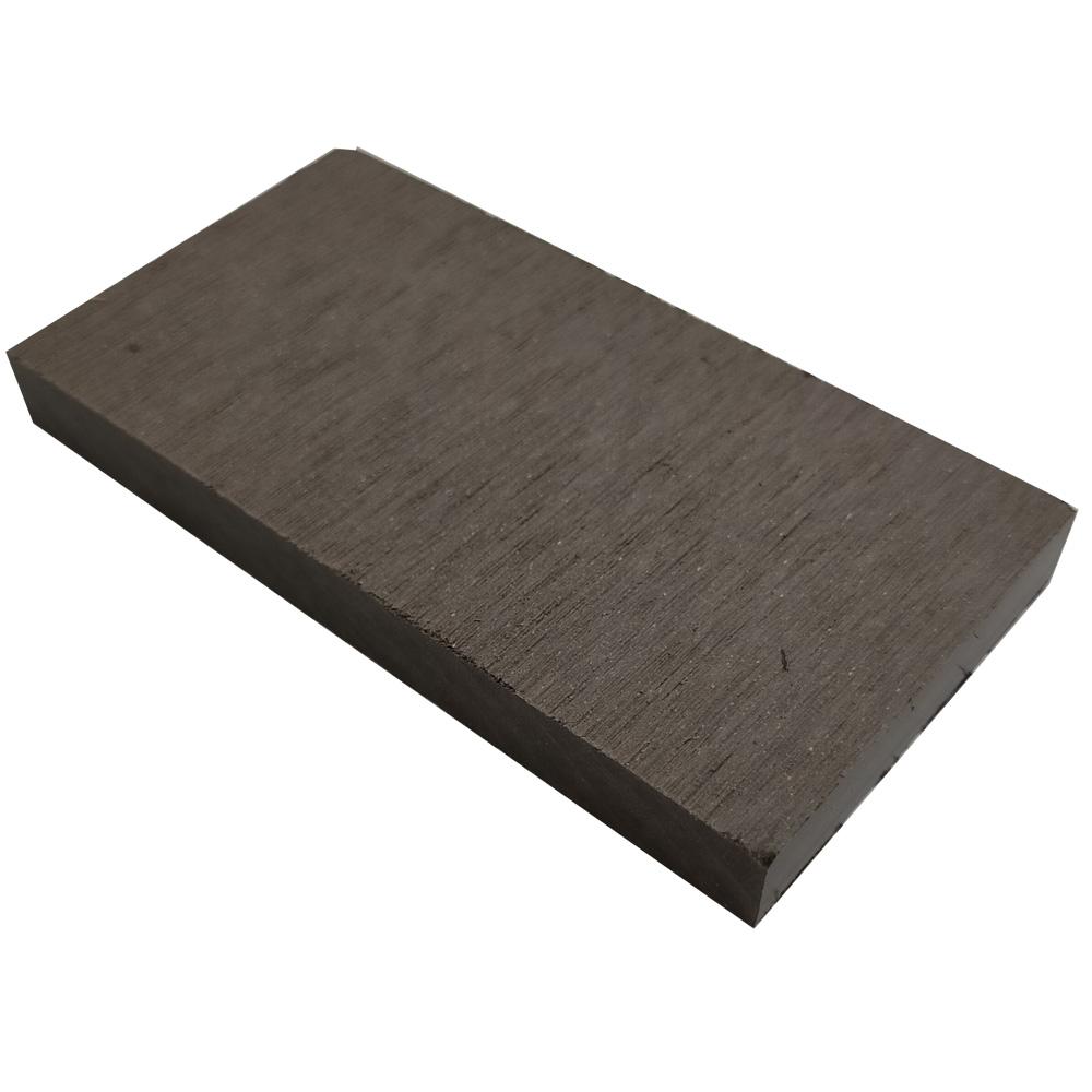 オーロラデッキ幕板/フェンス材(DARK BROWN)・デッキサンプル10×96×50 【お一人様一点限り】