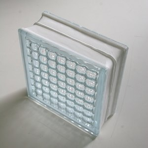 ガラスブロック 190×190×80mm クリスタルパラレル 6個セット