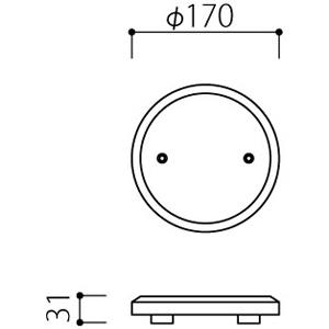 アルミ鋳物 妻飾り(オーナメント)・壁飾り (IT1704)