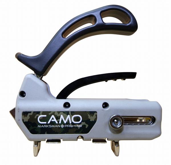 CAMO カモ マークスマン プロNB (80〜123mm幅デッキ材対応) 隠しビス工法 ビス止め ビス留め (約1.0kg)