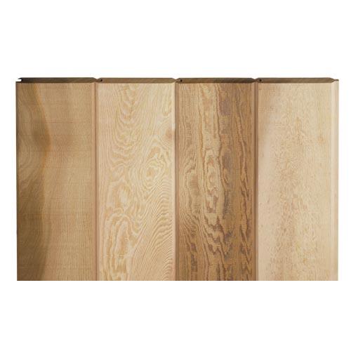 レッドシダー 木製外壁材 サイディング ・本実サイディング 約17×127mm×乱尺(6kg)【クリア】【平米単位での販売】TG-17127C