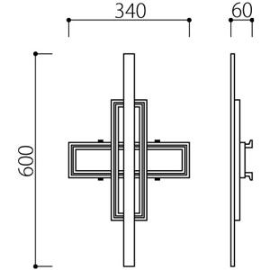 アルミ鋳物 妻飾り(オーナメント)・壁飾り (IT305)
