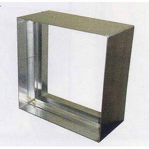 ステンドグラス専用ステンレス枠 SH-E用 (300角 エクステリア用) シルバー色 SHF-WE1 ※代引不可