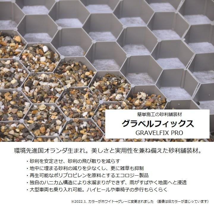 砂利地盤安定材 砂利舗装材 グラベルフィックス プロ 1176×764×32mm 約0.9平米 BERA
