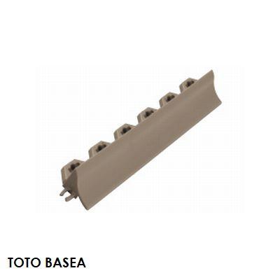 TOTO ベランダタイル バーセア 飛散防止部材 [平] カームグレー [単品] ジョイントタイル バルコニー 屋外用 AP006DJ