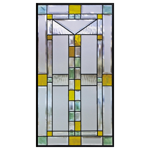 ステンドグラス (SH-A10) 913×480×18mm デザイン ピュアグラス Aサイズ メーカー在庫限り ※代引不可