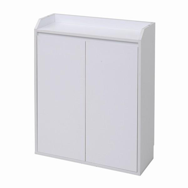 カウンター下収納 扉 幅60 ホワイト色 幅60×奥行22×高さ80cm yhk-0205-WH