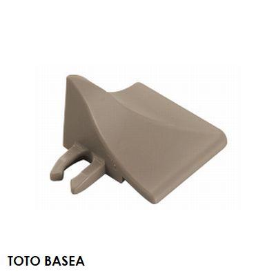 TOTO ベランダタイル バーセア 飛散防止部材 [コーナー] カームグレー [単品] ジョイントタイル バルコニー 屋外用 AP007DJ