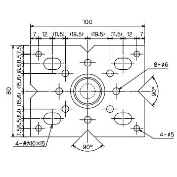ルチアウッド 鋼製束(フラット型) 685〜1030mm