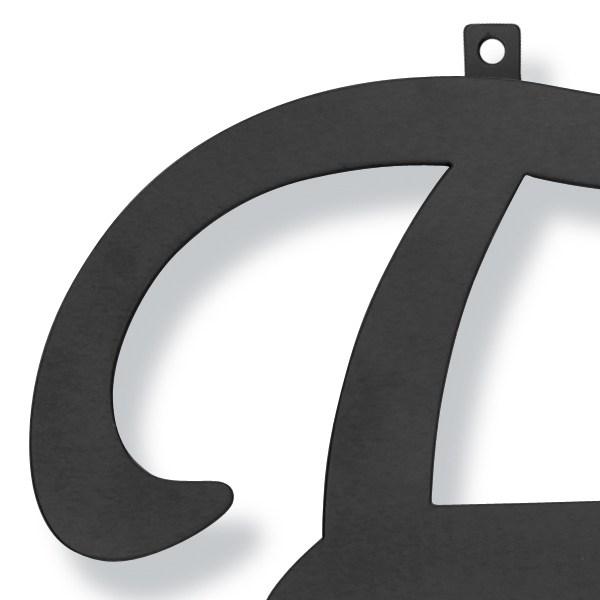 妻飾り 壁飾り [E] アルファベット (WA-K0E) ロートアイアン 日本製 ※北海道+1000円