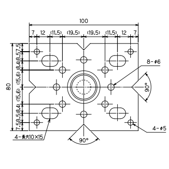 ルチアウッド 鋼製束(フラット型) 855〜1200mm