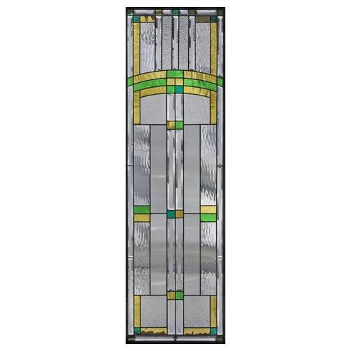 ステンドグラス (SH-B18) 1625×480×20mm デザイン ピュアグラス Bサイズ (約24kg) ※代引不可