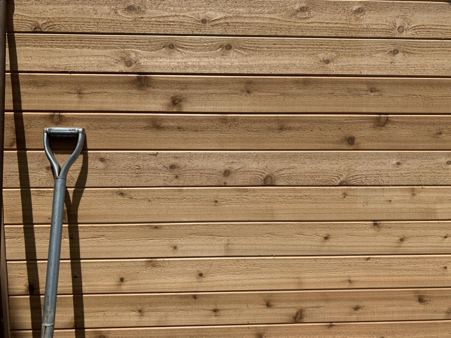 米杉 羽目板 パネリング材 無垢材 無節 無塗装 8×88×3050mm【1ケース 10本 2.68平米】