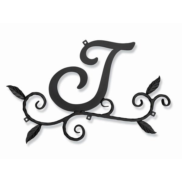妻飾り 壁飾り [J] アルファベット (WA-K0J) ロートアイアン 日本製 ※北海道+1000円