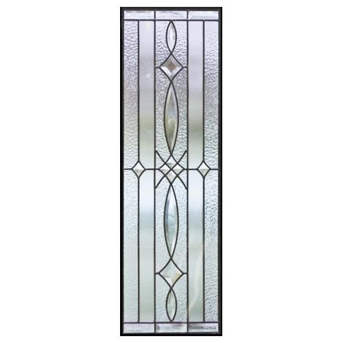 ステンドグラス (SH-C03) 927×289×18mm デザイン クリア ピュアグラス Cサイズ (約8kg) ※代引不可