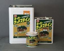 屋外木部保護塗料 スーパーウッドステイン(チーク) 16L ※法人限定 ※北海道・九州+600円