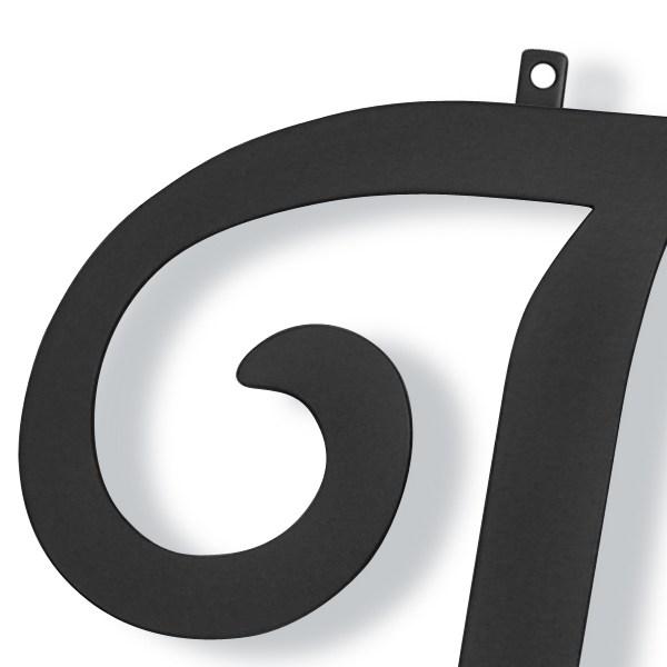 妻飾り 壁飾り [T] アルファベット (WA-K0T) ロートアイアン 日本製 ※北海道+1000円