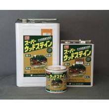 屋外木部保護塗料 スーパーウッドステイン(カスタニ) 16L ※法人限定 ※北海道・九州+600円