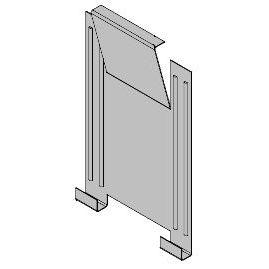 メタルシェッド 物置小屋用 オプション フック 大 4個入 収納庫
