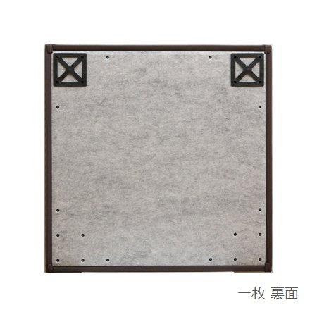 置き畳 ふっくらピコ ブラウン 82×82×2.2cm (6枚セット) 軽量 ユニット畳 日本製 ウレタン入り ※北海道・沖縄・離島+1650円