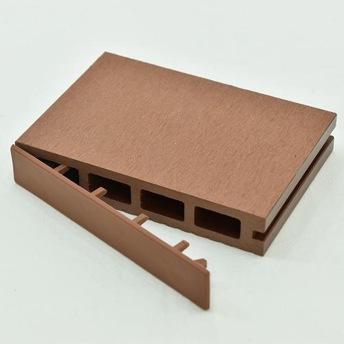 ※人工木 アドバンスデッキ用 エンドキャップ 10個セット ブラウンBROWN ※樹脂デッキ部材