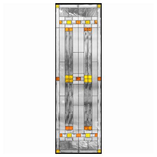 ステンドグラス (SH-B07) 1625×480×20mm デザイン ピュアグラス Bサイズ (約24kg) ※代引不可
