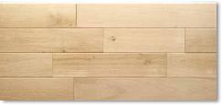 ホワイトオーク フローリング 無垢 ABグレード 無塗装 19×120×乱尺(〜1800mm) 【1ケース 1.728平米/8枚】