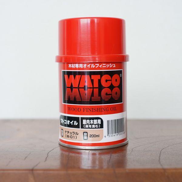 塗料 屋内木部用 ワトコワックス 200mL [家具・工芸品・壁・建具用] ※北海道・中国以西+500円