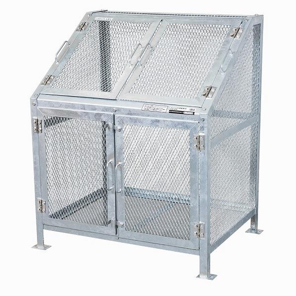 ゴミ箱 ごみ箱 ダストボックス ごみステーション ゴミステーション 屋外 メッシュごみ収集庫90 KDB-900N