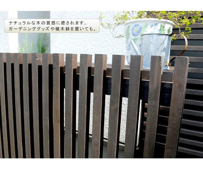 室外機カバー 大型 ダークブラウン 木製 MAC-1100 モダンエアコンカバー(大型) ※北海道+2200円