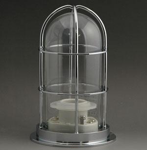マリンランプ 1号デッキ シルバー (1.0kg) 1-DK-S マリンライト ※付属電球なし