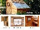 入荷未定 木製小屋 シダーシェッド社 サンハウス (8×12type) 約8.6平米 2.6坪 木製物置 ※要荷降ろし手伝い