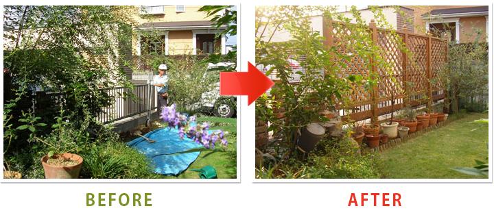 フェンス ラティスフェンス 木製 90×135cm 3枚セット 屋外 庭 ウッドフェンス 格子 花壇 ガーデニング