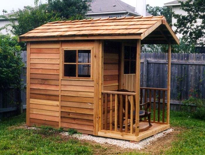 入荷未定 木製小屋 シダーシェッド社 ガーデナーデライト (6×9type) 約3.3平米 1.0坪 木製物置 ※要荷降ろし手伝い