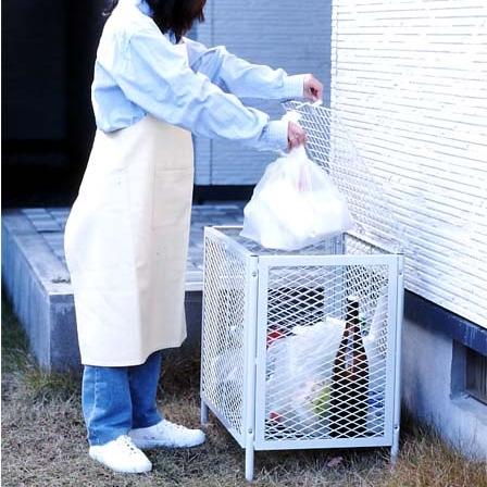 ゴミ箱 ごみ箱 ゴミ一時保管カゴ 家庭用 ごみステーション ゴミステーション 屋外 ホームダストカーゴ DC-160