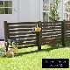 フェンス 木製 単品 ダークブラウン ボーダーフェンス スプレッド SFBF1000DBR ※北海道+5500円