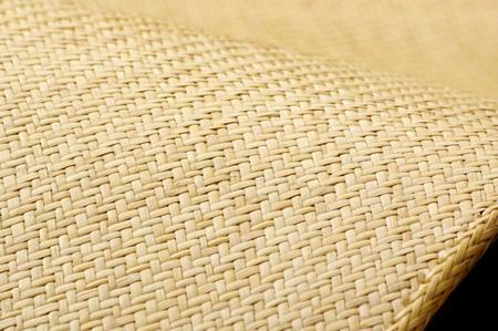玄関マット 70×120cm 籐あじろ織り 宝麗 ラグマット 涼感 5209730