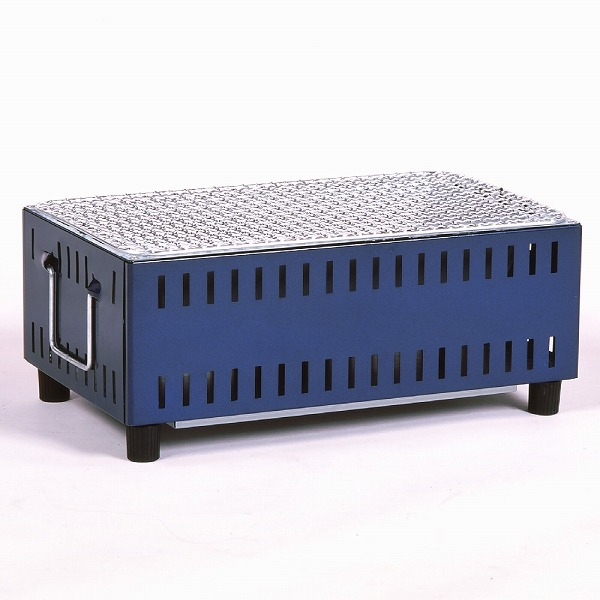 バーベキューコンロ 七輪 シチリン しちりん 卓上 コンパクト卓上シチリン UC-350(BL) BBQコンロ キャンプ