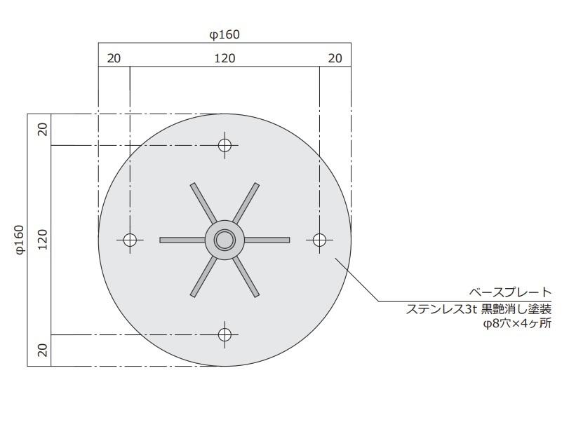 風見鶏 犬 ステンレス製 黒つや消し KZSS-犬2 ※北海道・沖縄+1200円