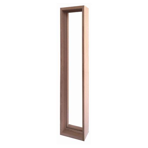 ステンドグラス専用木枠 SH-J用 (室内用) タモ集成材 SHF-ZJ1 ※代引不可