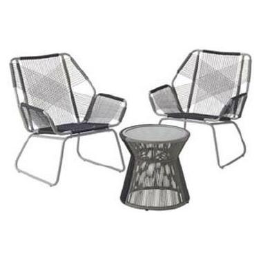ガーデンテーブルセット LOGOS Smart Garden スリングテラス3 ガーデンファニチャー ロゴス