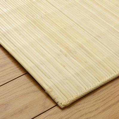 籐 玄関 マット ジャワ (70×120cm) 籐むしろカーペット ラタン (5201970)