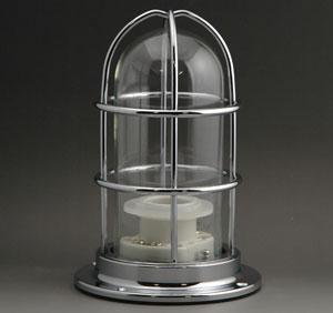 マリンランプ  NEWデッキライト シルバー (1.2kg) NW-DK-S マリンライト ※付属電球なし