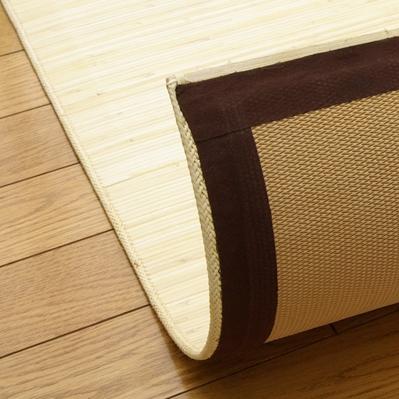 籐 玄関 マット ジャワ (45×180cm) 籐むしろカーペット 廊下 ラタン (5201920)