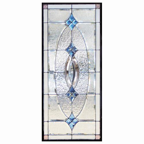 ステンドグラス (SH-K01) 一部鏡面ガラス 913×400×18mm ピュアグラス Kサイズ (約11kg) メーカー在庫限り ※代引不可
