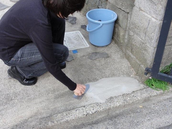 コンクリート補修剤 瞬間コンクリ21 5kg