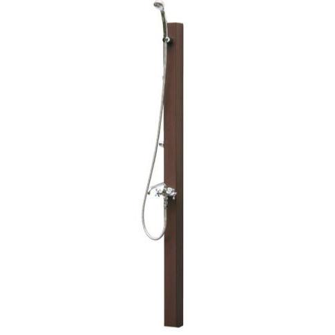 シャワーポール・レヴウッドタイプ お湯用・水用 PF-SP-8T (水栓金具は別売りです) ※送料別途見積