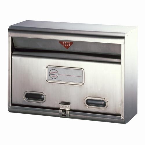 郵便ポスト ステンレスポスト PS-50H メールボックス 鍵なし