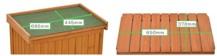 物置 小型収納庫 木製 ブラウン オーデンI 屋外 庭 ストッカー ガーデニング 屋外収納